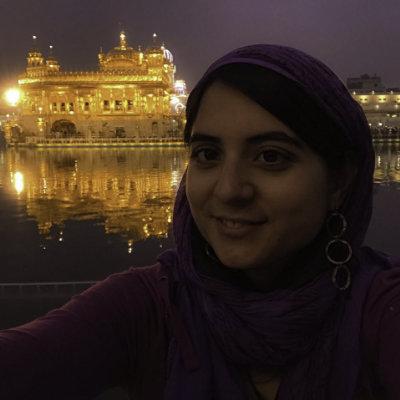 Monica Miranda Traveller yoga student and organiser